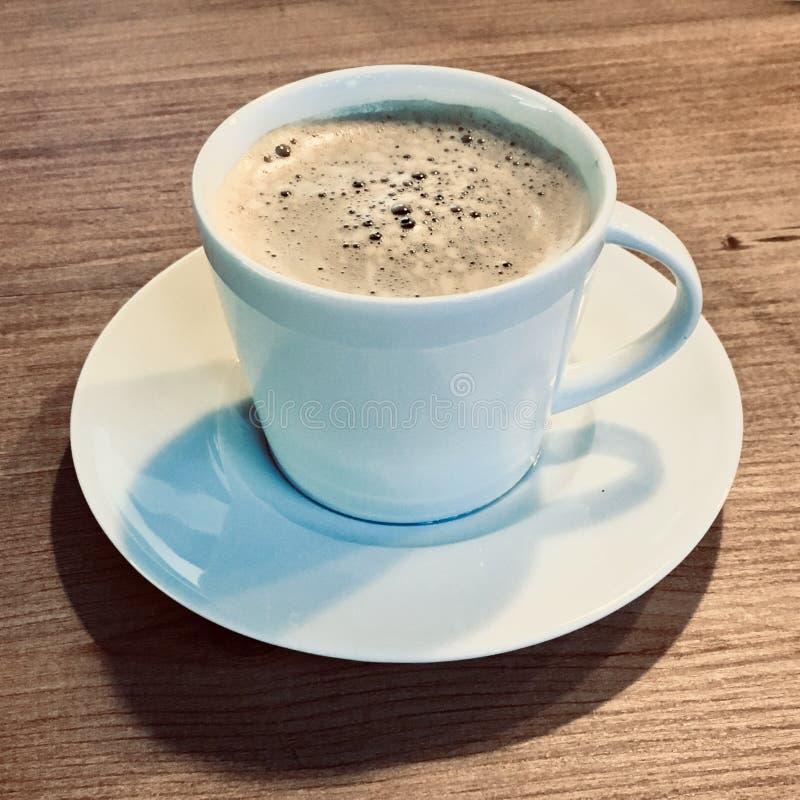 一杯白色咖啡 Americano 库存图片