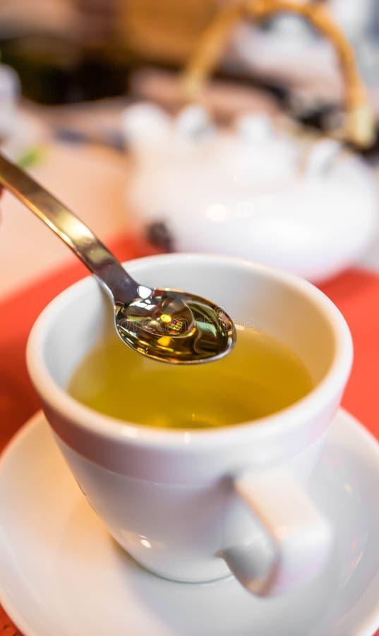 一杯茶 免版税库存照片