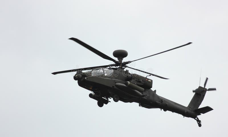 一架直升机 免版税库存图片