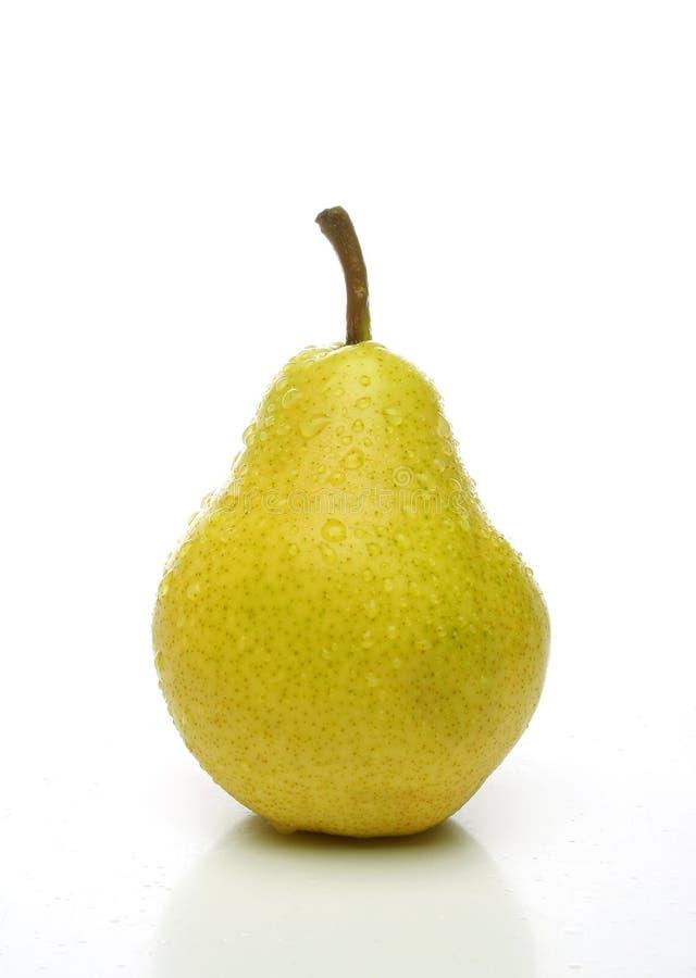 一梨黄色 库存图片
