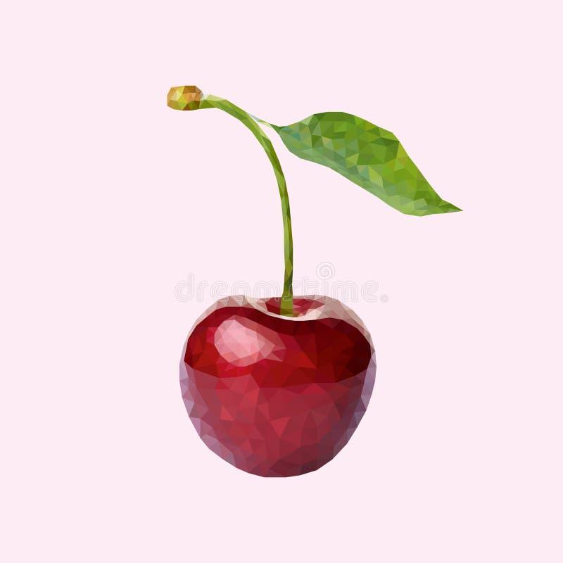 一棵樱桃 库存照片