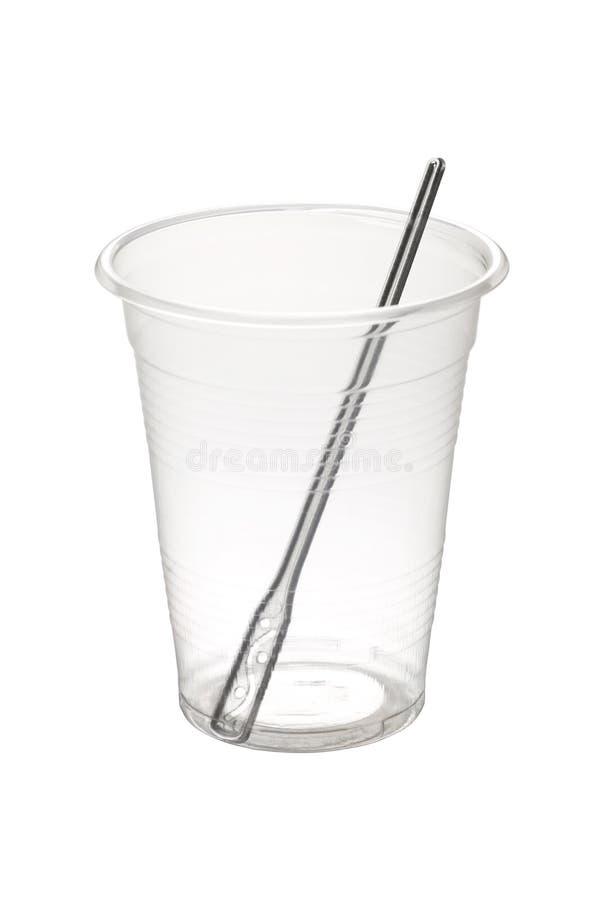 一次性的杯子 图库摄影