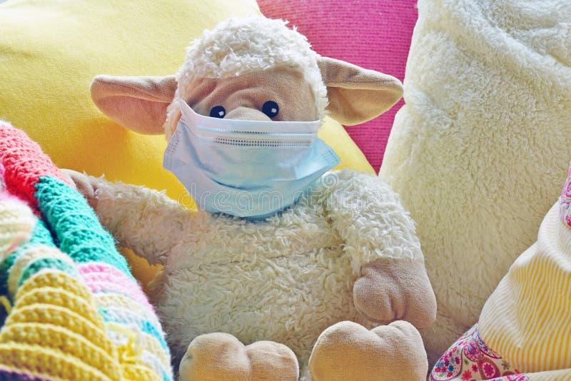一款儿童毛绒毛绒毛绒玩具 库存图片