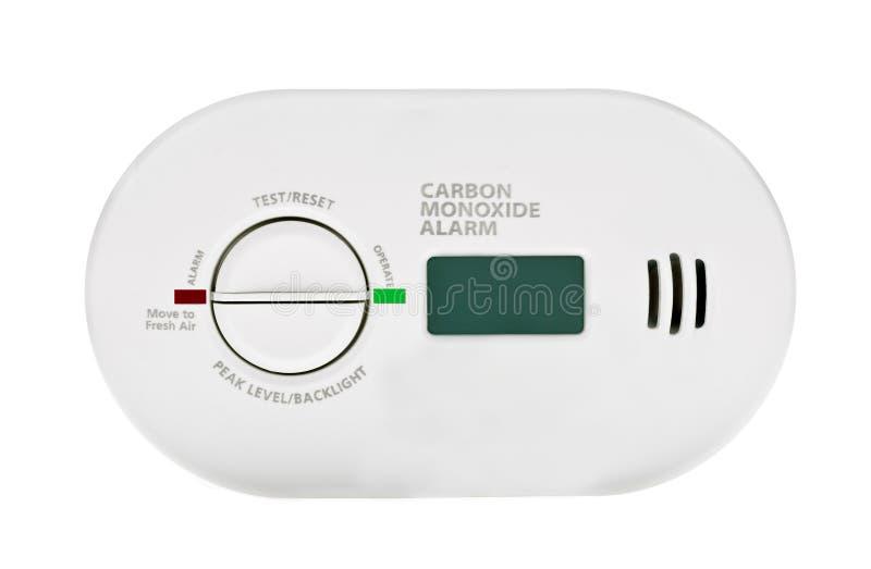 一氧化碳警报 库存图片