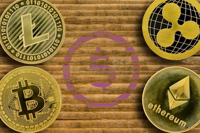 一消失的美元的概念 免版税库存照片