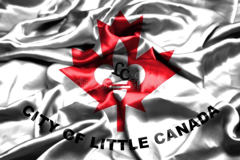 一点加拿大,明尼苏达沙文主义情绪在风 美国状态团结了 库存例证