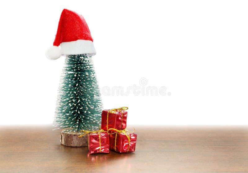 一点圣诞节礼物 库存照片