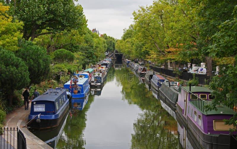 一点威尼斯在伦敦 图库摄影