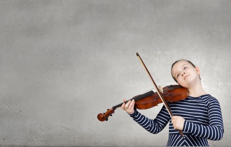 一点小提琴球员 库存图片