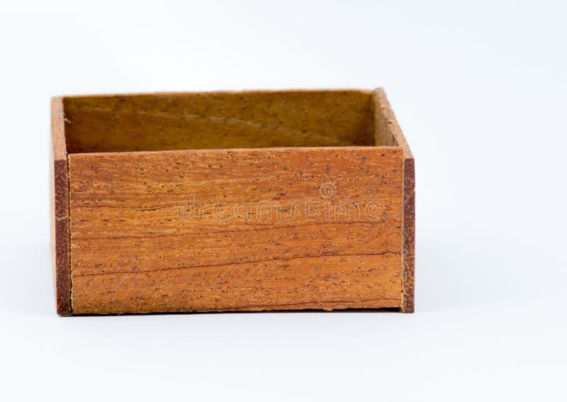 一点小箱木头 图库摄影