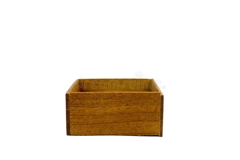 一点小箱木头 免版税库存图片