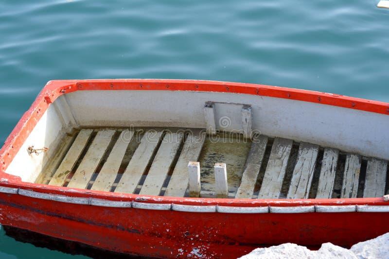 一点小船 库存照片