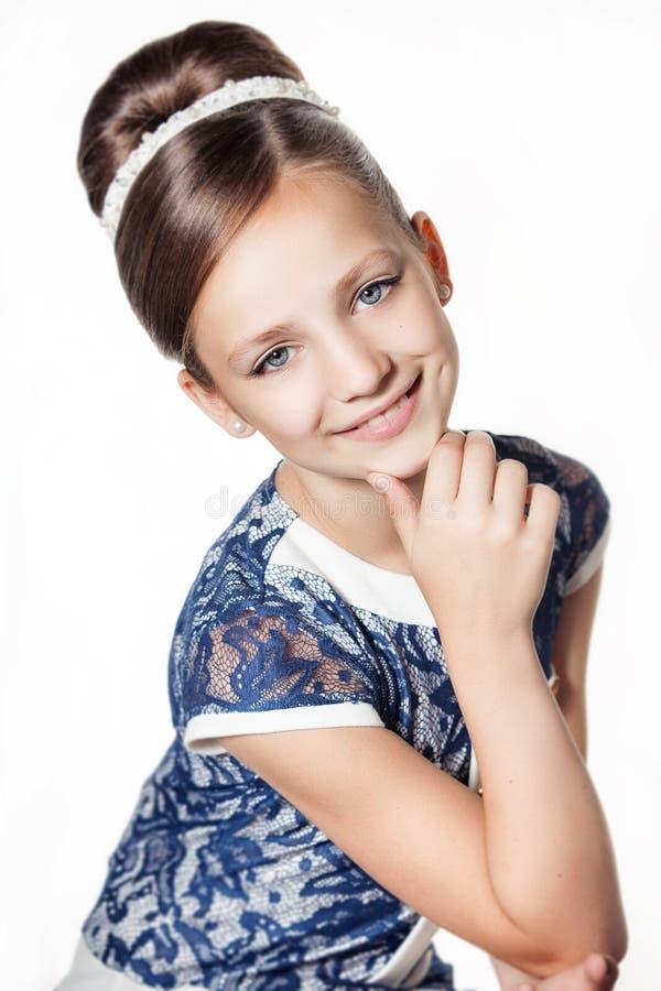 一点时尚孩子女孩 免版税库存图片