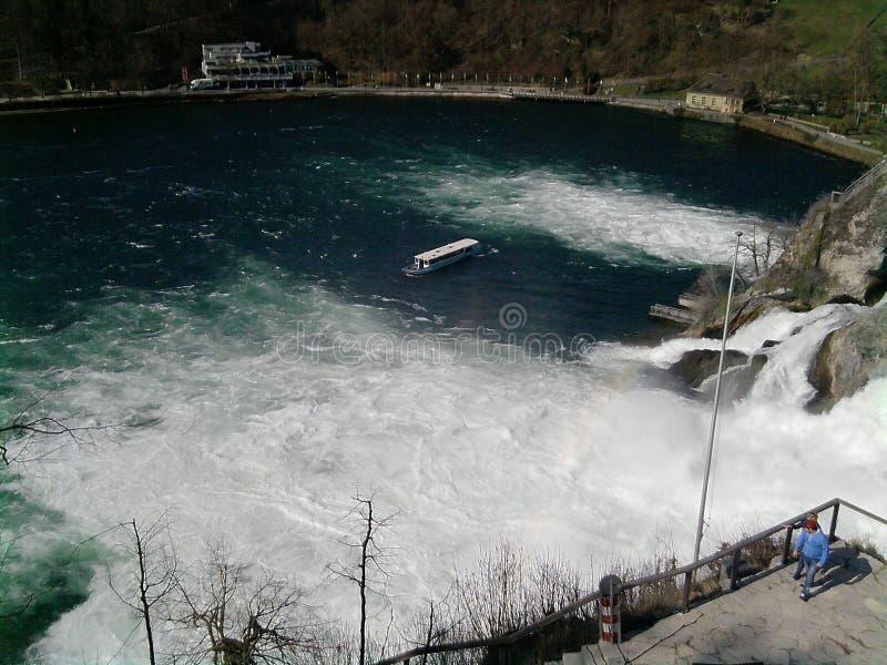 一点瀑布在奥地利 免版税库存照片