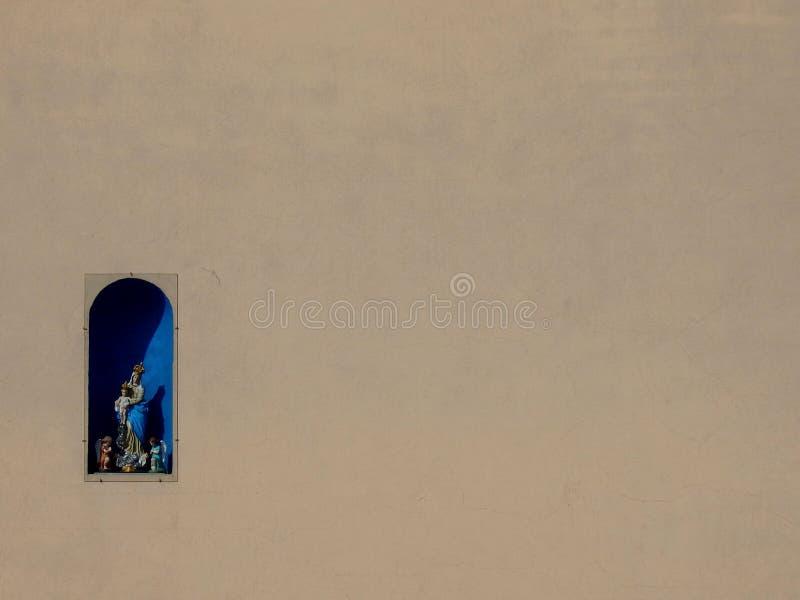 一点路边寺庙 图库摄影