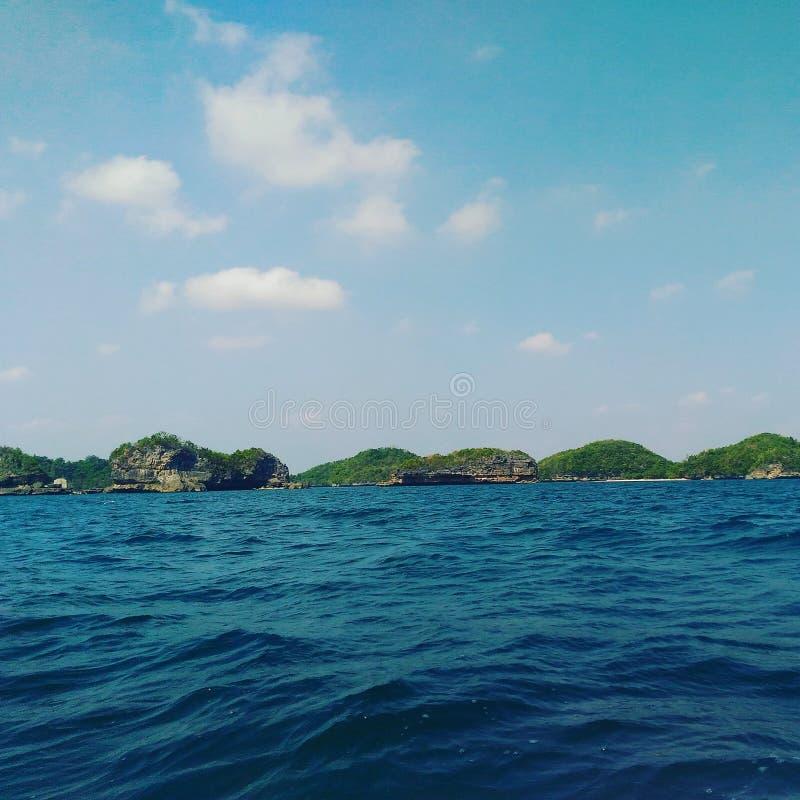 一百个海岛 库存照片