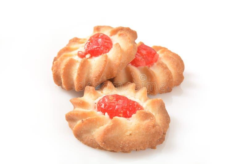 一种油脂含量较高的酥饼 免版税库存照片
