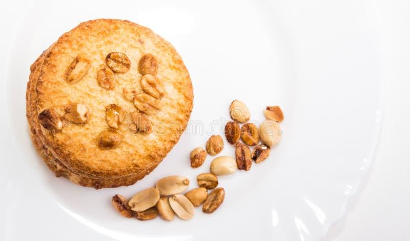 一种油脂含量较高的酥饼 库存图片