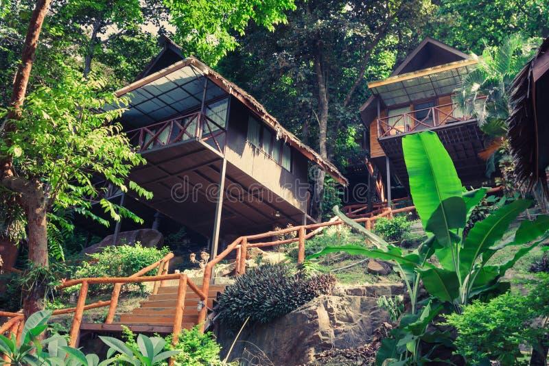 一种豪华手段在披披岛,一个热带泰国海岛 免版税库存照片
