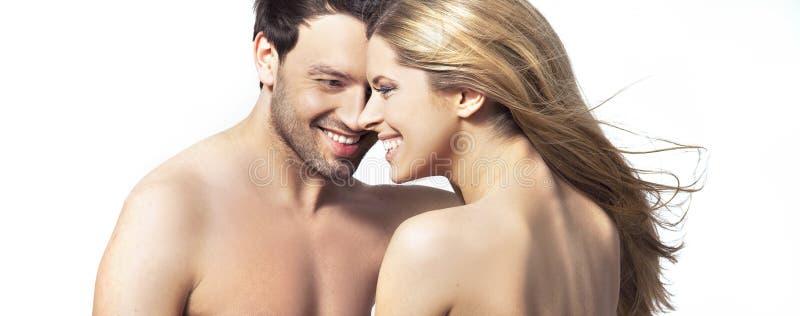 一起微笑的人妇女年轻人 库存照片