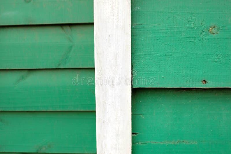 一起砰地作声绿色和的白板 免版税库存图片