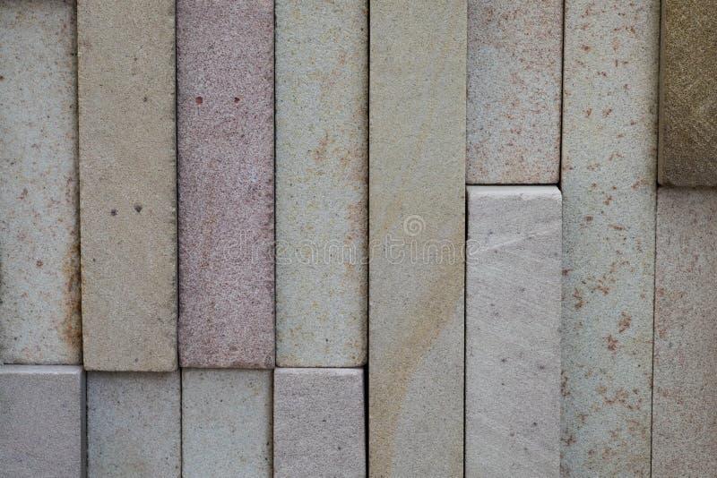 一起附属的砖墙和螃蟹表面的背景 图库摄影