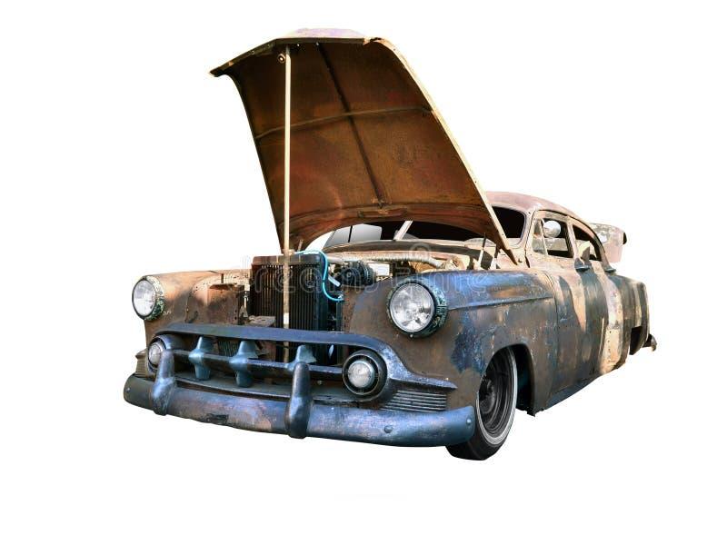 一辆老美国汽车 免版税库存照片