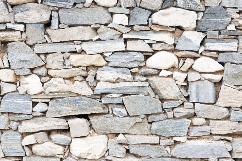 一部分的一个石墙 免版税图库摄影