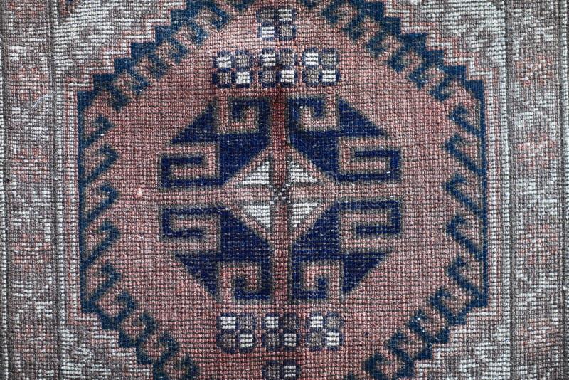 一部分的土耳其地毯 库存图片