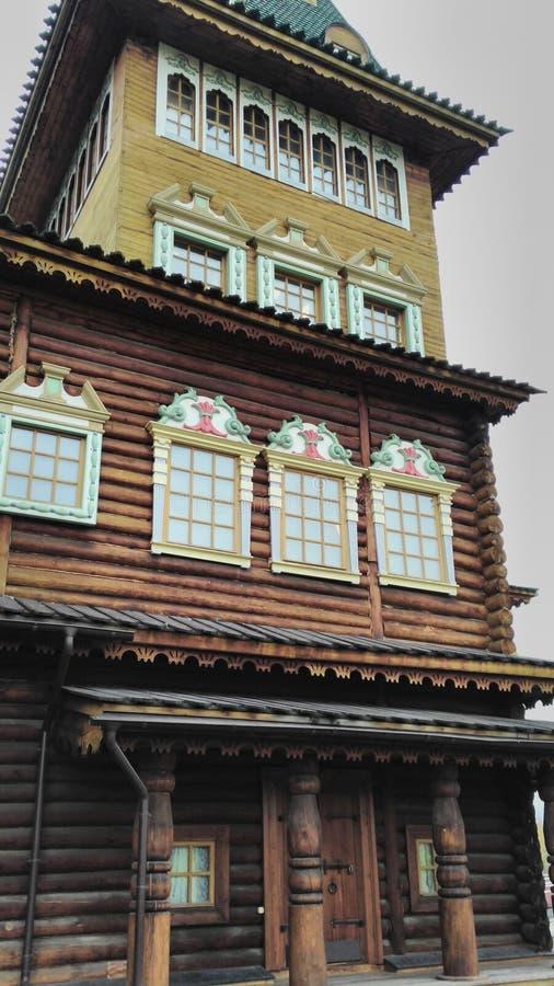 一部分的沙皇房子 库存图片