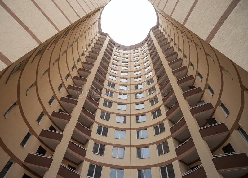 一部分的现代大厦 免版税库存图片
