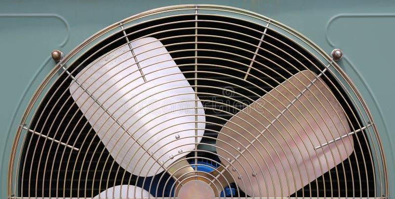 一部分的空调器通风机 库存照片