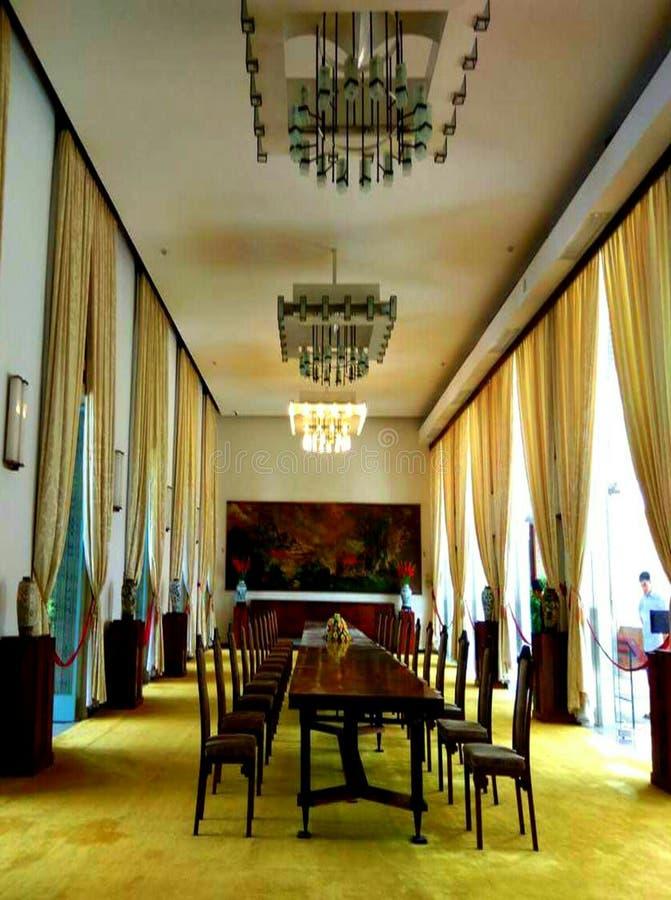 一部分的统一宫殿 库存照片