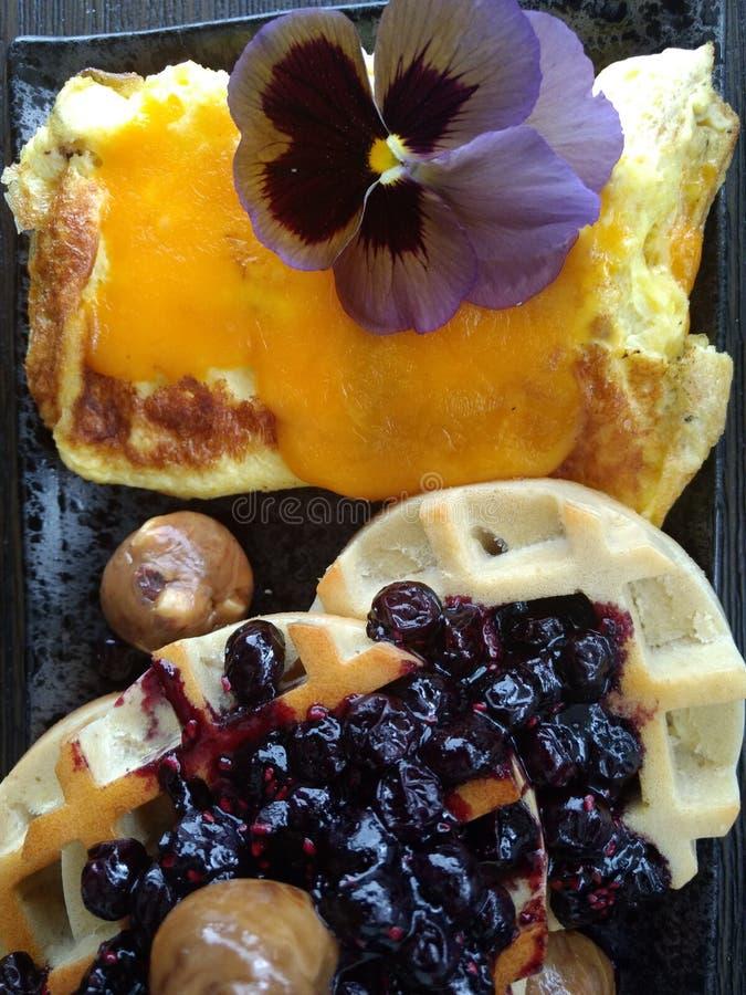 一顿小的早餐 免版税库存照片