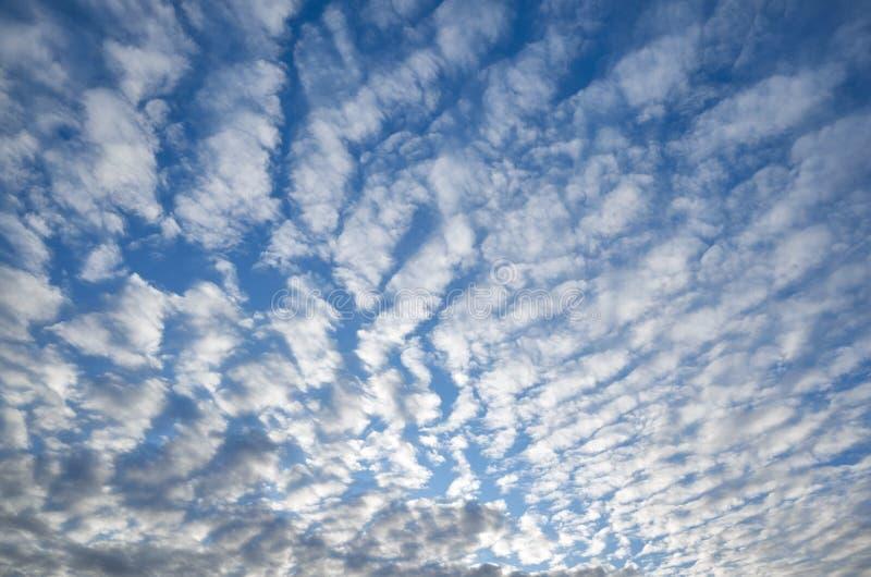 一风景cloudscape的看法 库存照片