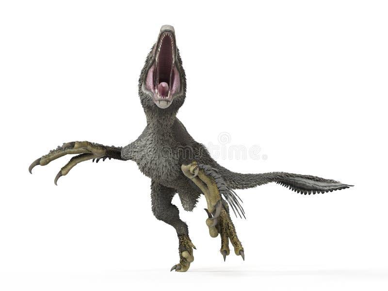 一dakotaraptor 向量例证