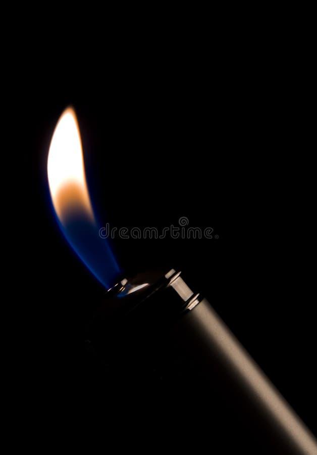 丁烷火焰 图库摄影