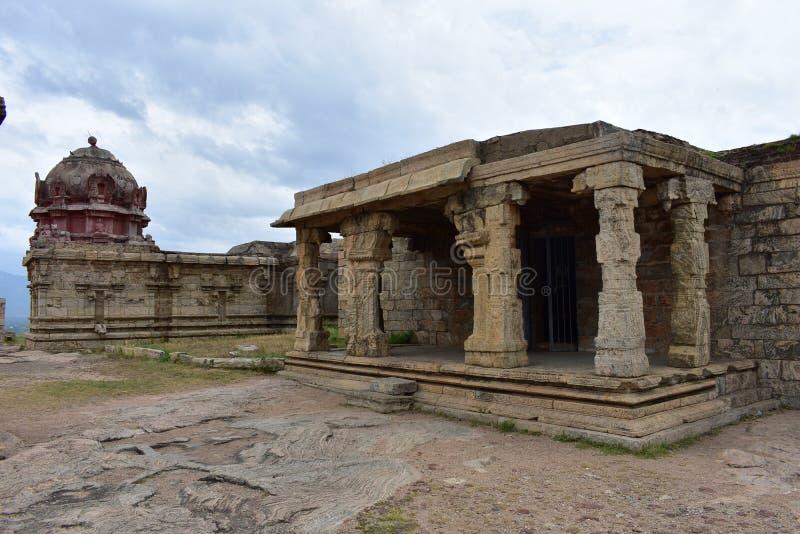 丁迪古尔,Tamilnadu,印度- 2018年7月13日:早丁迪古尔历史 库存照片