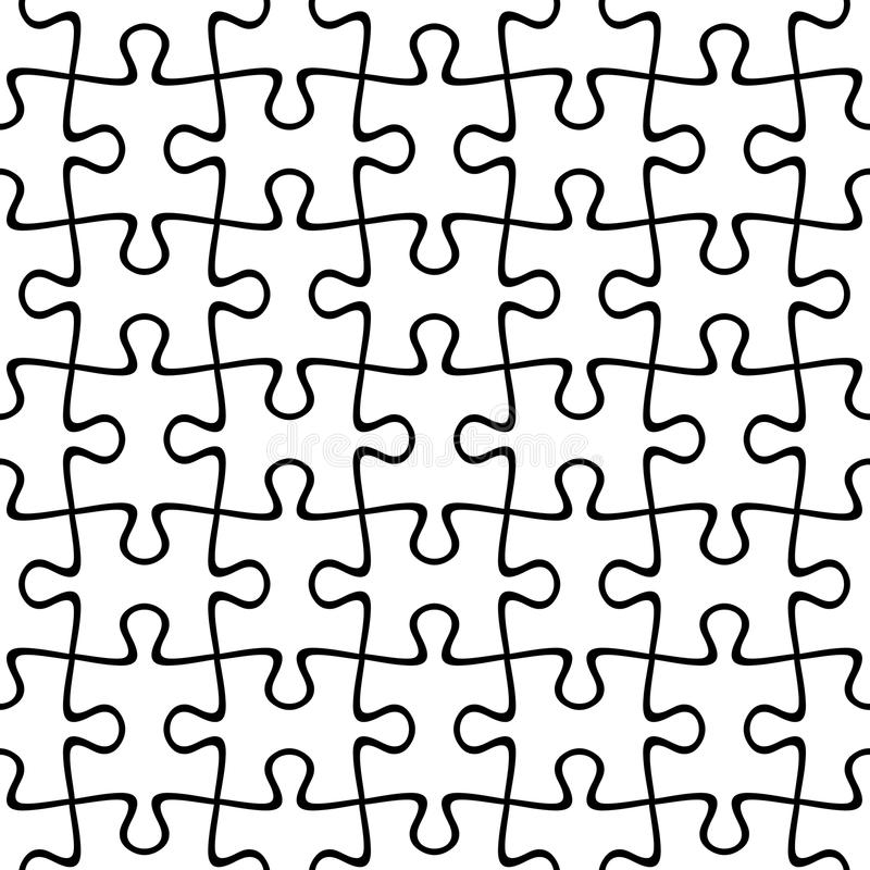 七巧板无缝的背景 也corel凹道例证向量 向量例证