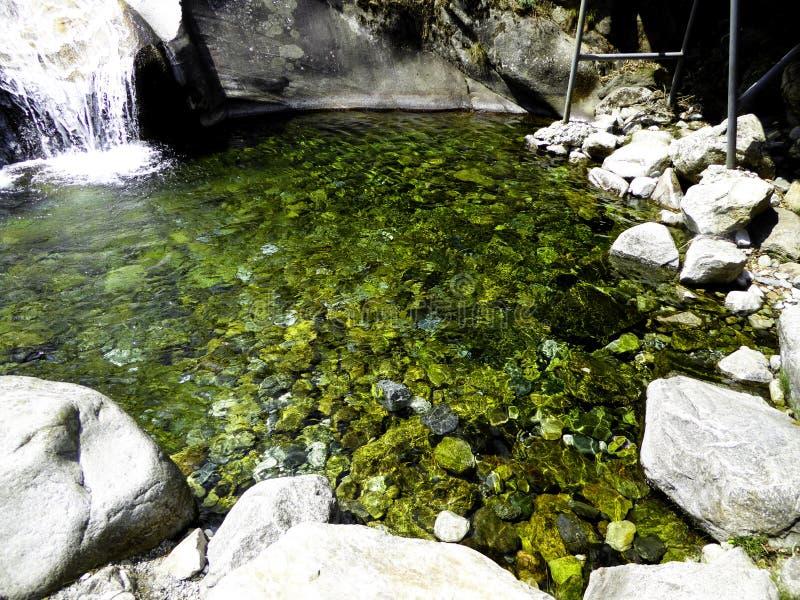 七条龙水池 库存照片