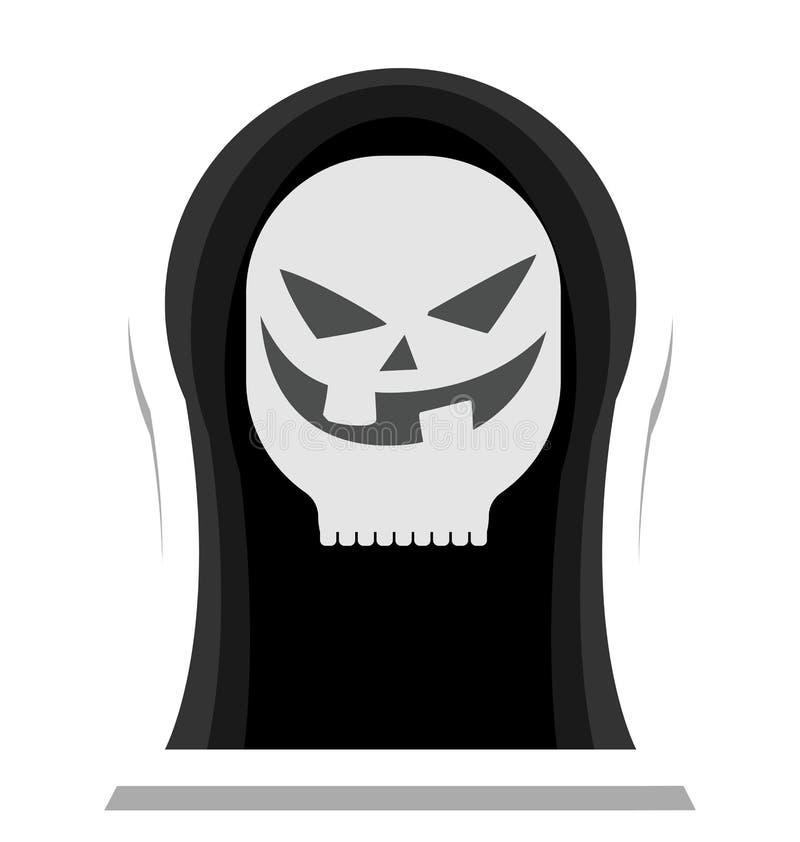 万圣夜鬼魂,可怕颜色隔绝了可以容易地是编辑的传染媒介象或修改了 皇族释放例证