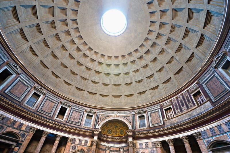 万神殿,罗马,意大利。 免版税库存图片