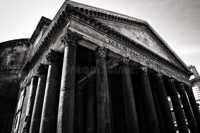万神殿 免版税库存图片