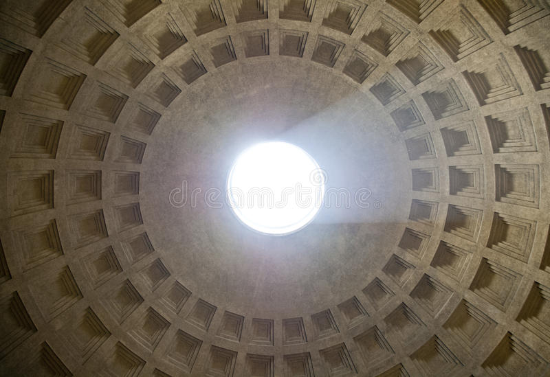 万神殿oculus 免版税库存图片