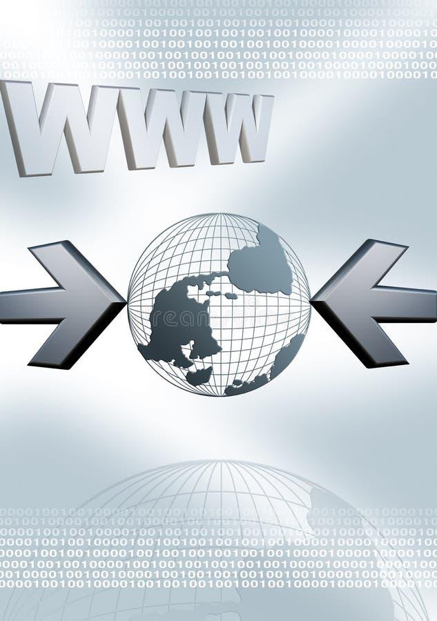 万维网万维网 向量例证