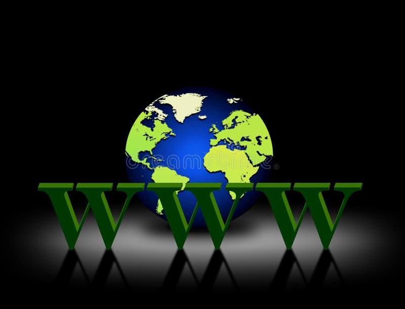 Download 万维网宽世界 库存例证. 插画 包括有 欧洲, 蓝色, 互联网, 存取, 空白, 世界, 国际, 翻译, 通信 - 15690550