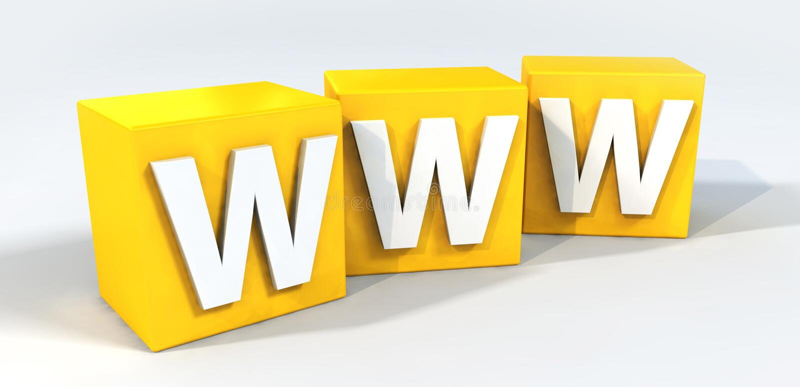 万维网 向量例证