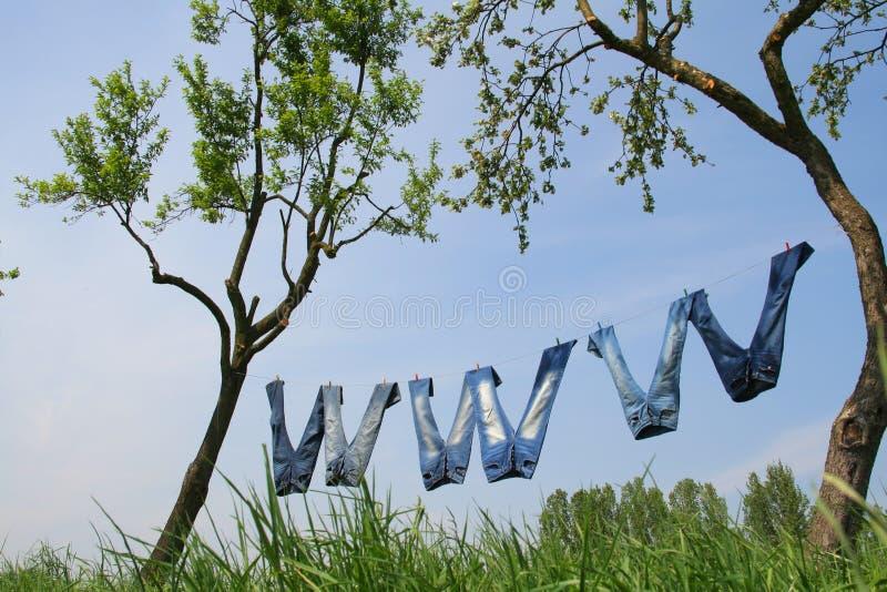 万维网 库存图片
