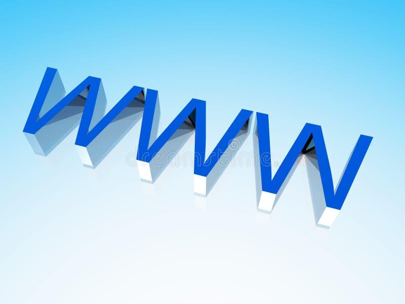 万维网4 向量例证