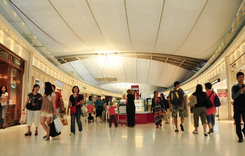 素万那普机场内部 库存图片